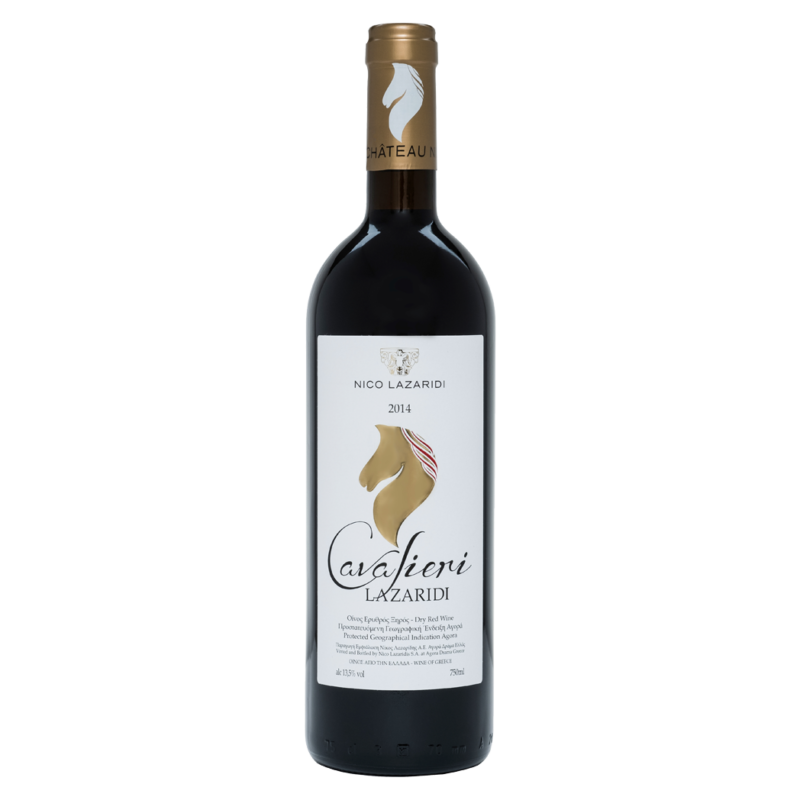 Cavalieri Lazaridi - 0.75lt - Ερυθρό - 2014