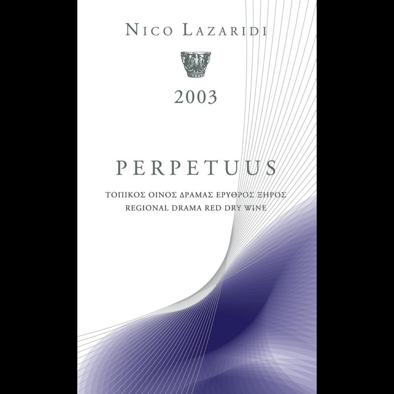 Perpetuus 0.75lt, Ερυθρό, 2003