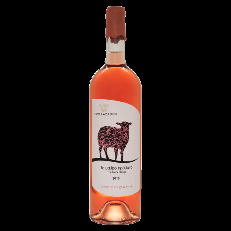 Το Μαύρο Πρόβατο Grenache Rouge - Syrah 1.5lt, 2019