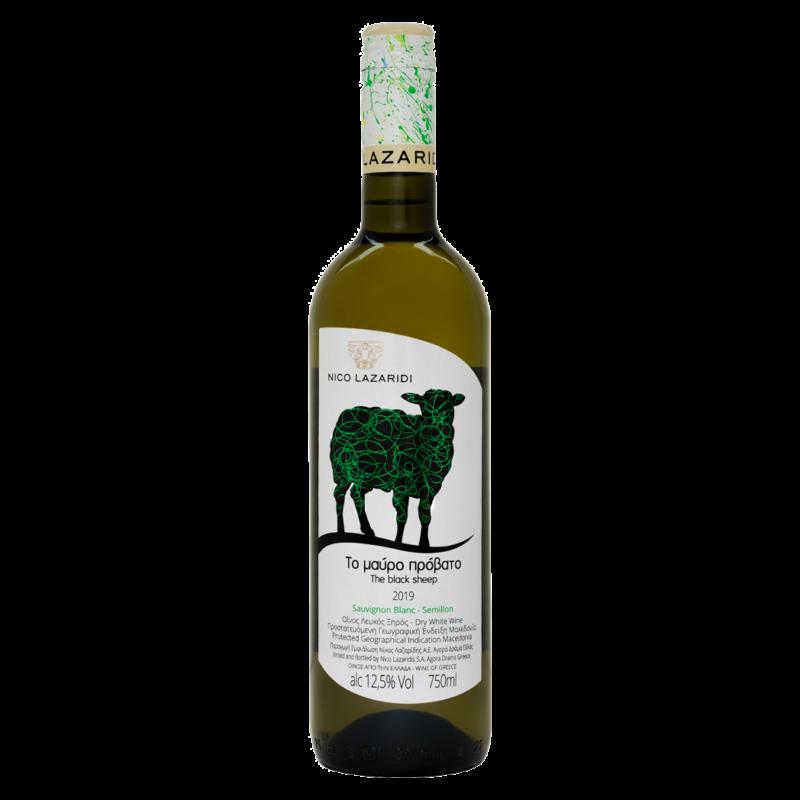 Το μαύρο πρόβατο Sauvignon Blanc - Semillon, 0.75lt, Λευκό, 2019