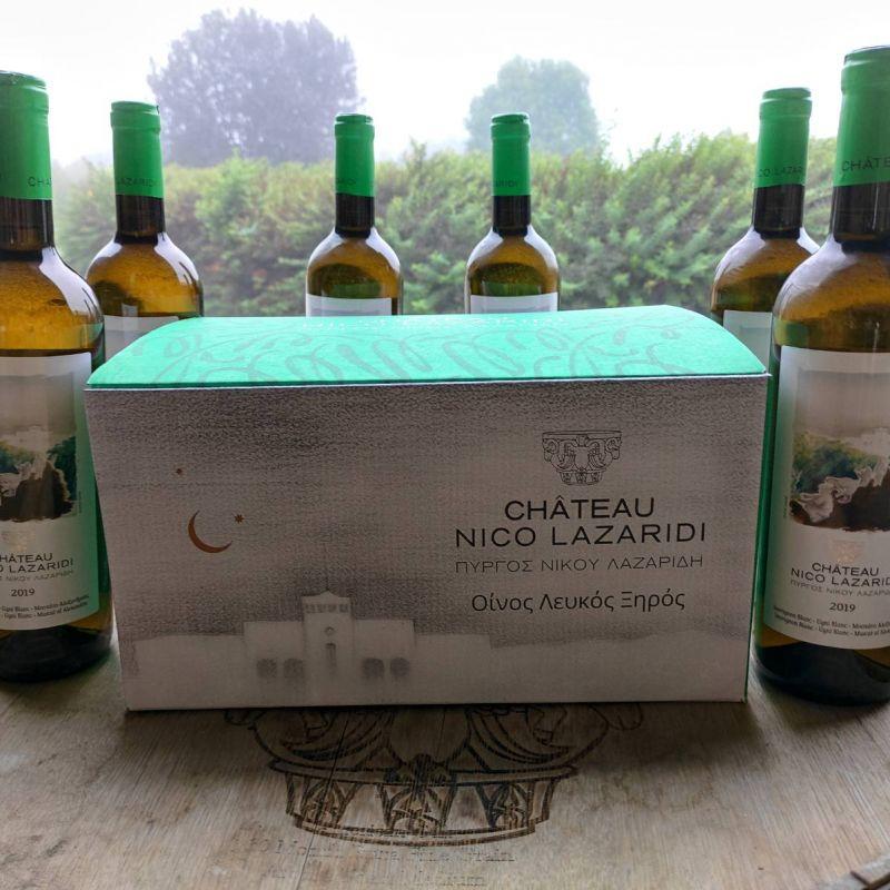 6 bottles Chateau Nico Lazaridi White 2019